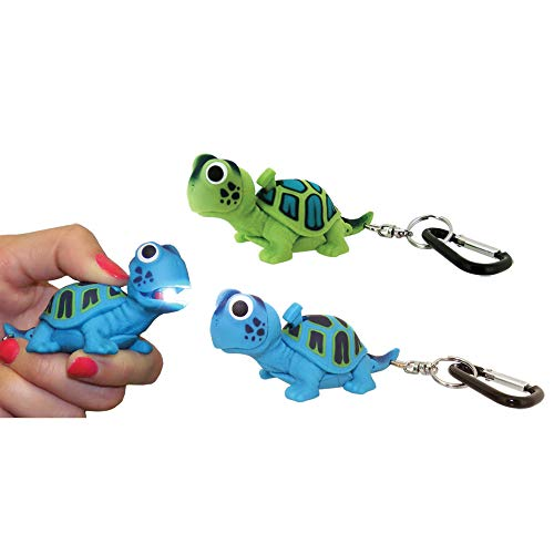 Turtle Carabiner Flashlight made our CampingForFoodies hand-selected list of 100+ Camping Stocking Stuffers For RV And Tent Campers!