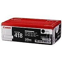 Canon Laser Toner Cart 418, Value Pack of 2, Black