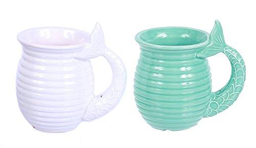 Ceramic Mermaid Tail Handle Coffee product image