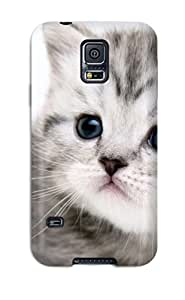 Cat Fashion Tpu S5 Case Cover For Galaxy