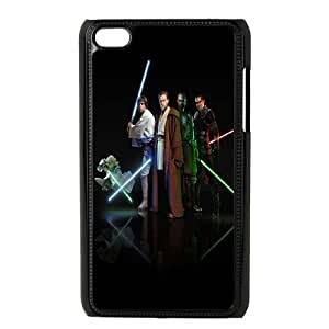 iPod Touch 4 Case Black Star Wars Characters O2B9DO