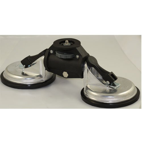 GH1017 Professional Heavy Duty Car Camera / video Suction Cup Mount 2 base cupの商品画像