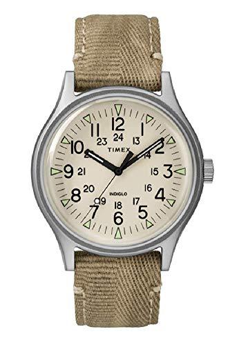 Timex MK1 Natural Dial Canvas Strap Unisex Watch TW2R68000