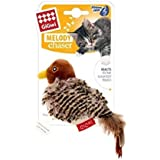 Gigwi Bird Melody chaser with motion activated sound chip and feather