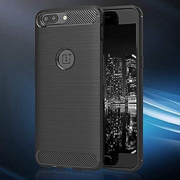 MyCase Tope Fino para OnePlus 5 | Negro Elegante Diseño Opaco ...