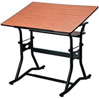 Alvin CraftMaster III Drafting, Drawing, and Art Table, Black Base Cherry Top 30 x 42 CM50 3 WBR