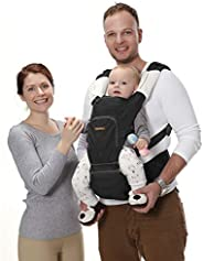Canguru para Bebê Fisher Price, BB310, Multikids Baby, Preto