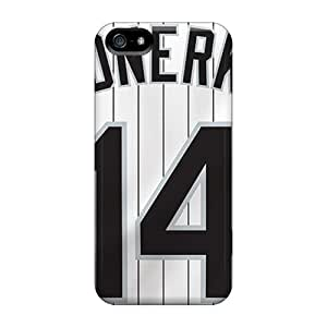 Awesome Chicago White Sox Flip Case With Fashion Design For Iphone 5/5s