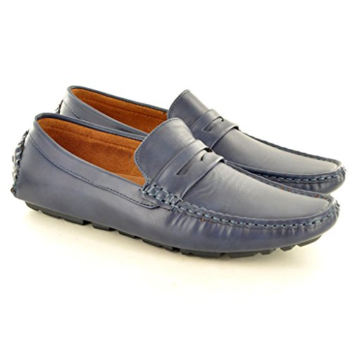 My Perfect Pair , Herren Mokkasins blau UK Size 7 /EU Size 41