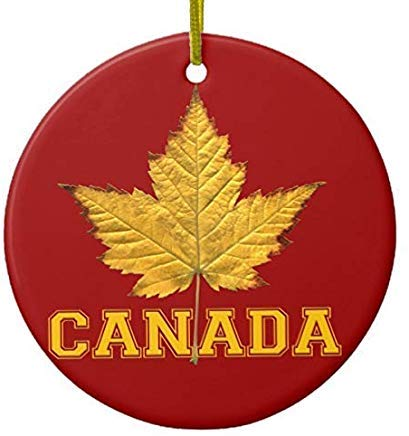 Cheyan Ornament Vancouver Canada Ornament Custom Vancouver Gifts Xmas Trees Home Ceramic Ornaments Porcelain Ornament Personalize (Clear Canada Ornaments)