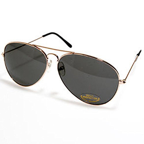 Dark Aviator Sunglasses - Single