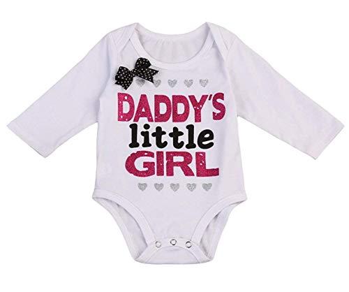 NIHINTE 2 Styles Newborn Baby Girls Jumpsuit