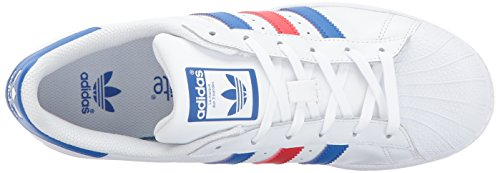Scarpe per Ragazzo Bambini Ftwwht blue J red Superstar adidas pBqwxgRP
