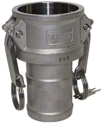 Camlock C - RVS - tuleaansluiting 63 mm - DN 65