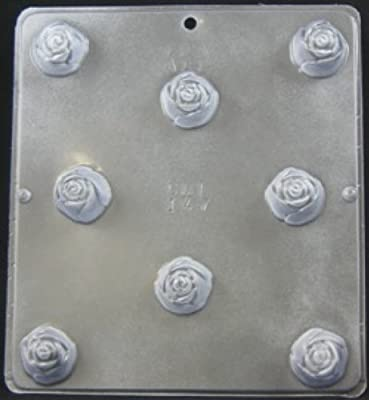 Rose Covered Cherry Piece Chocolate Candy Mold Candy Making 147