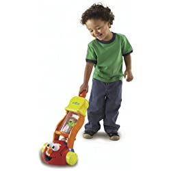 Fisher Price Sesame Street 2-In-1 Giggle Vacuum