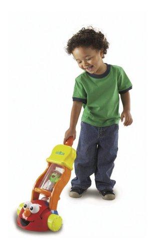 Fisher Price Sesame Street 2-In-1 Giggle Vacuum