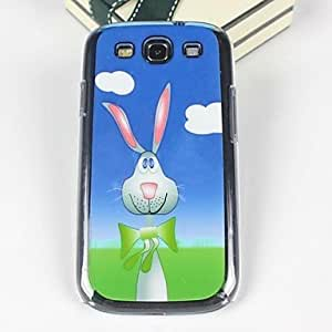 DUR Beautiful Little Rabbit Pattern PC Back Case for Samsung S3/I9300