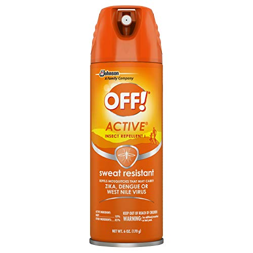 - OFF! Active Insect Repellent, Sweat Resistant 6 oz ( Pack of 12)