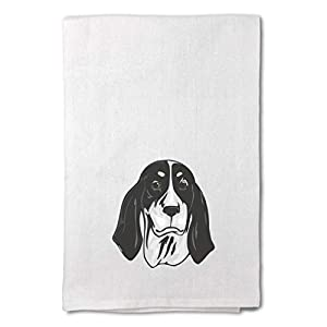 Style In Print Custom Decor Flour Kitchen Towels Ariegeois Head Pets Dogs Cleaning Supplies Dish Towels Design Only 11
