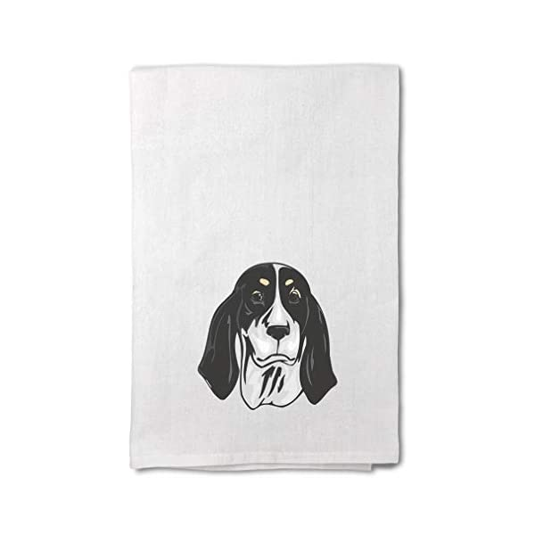 Style In Print Custom Decor Flour Kitchen Towels Ariegeois Head Pets Dogs Cleaning Supplies Dish Towels Design Only 1