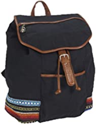 Aeropostale Womens Southwest Embroidery Backpack Black