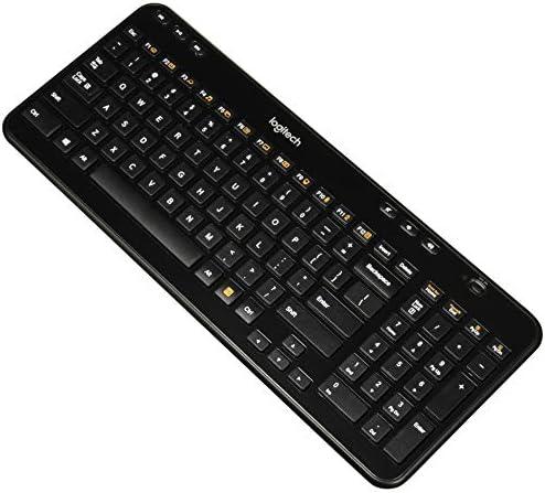 Logitech K360 Wireless Keyboard, Black, English (920-004088)