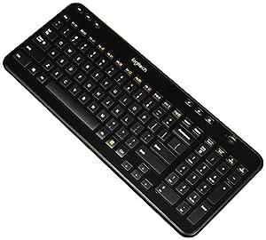 Desktop Keyboard Accessories : logitech k360 wireless usb desktop keyboard compact full keyboard 3 year battery ~ Russianpoet.info Haus und Dekorationen