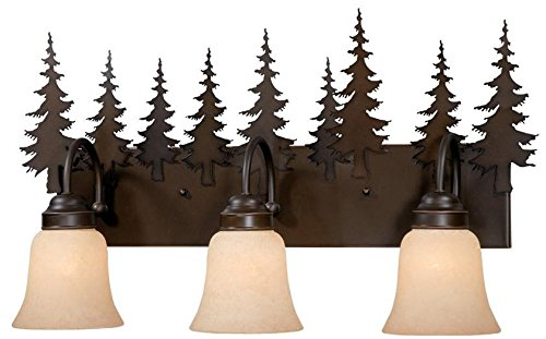 Cheap Vaxcel VL55503BBZ Yosemite 3 Light Vanity Light, Burnished Bronze Finish