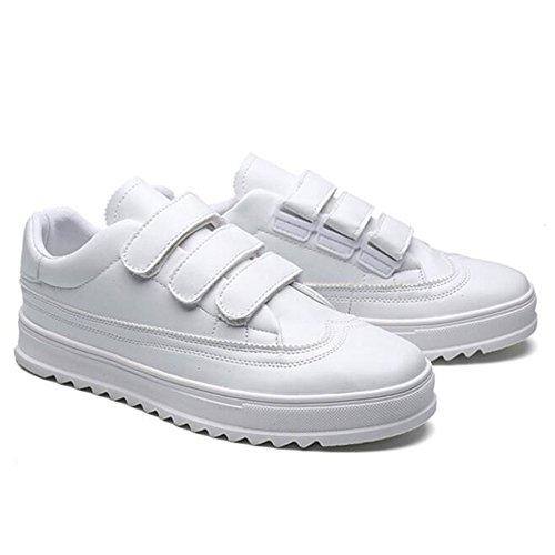 Größe Farbe Weiß Komfortable Klettverschluss atmungsaktive CN44 Schuhe und Feifei Farben 2 UK9 EU43 mit Summer Leisure Herrenschuhe q7nxO4xPF