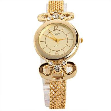 XKC-watches Relojes de Mujer, Mujer Reloj de Moda Reloj Creativo único Simulado Diamante
