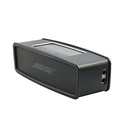 Carcasa de aluminio parachoques para Bose SoundLink Mini 2 y Bose SoundLink Mini Bluetooth, compatible con el cargador...
