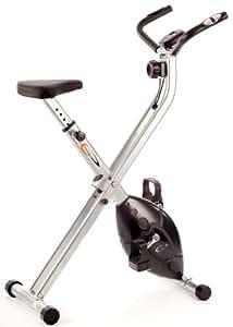 V-Fit MXC1 Folding - Bicicleta estática plegable con resistencia magnética [Importado de Inglaterra]