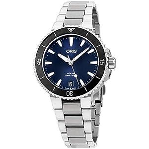 Oris Aquis Reloj de Mujer automático 37mm Correa de Acero 01 733 7731 4135-MB 1