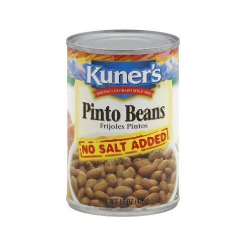 Kuner's Pinto Beans- No Salt Added-15 Oz. (Pack Of 12) ()