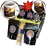 Dinzas Art Dogs - German Shepherd - Coffee Gift Baskets - Coffee Gift Basket