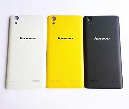 quality design 87e5c de805 100% New Durable Battery Housing Panel Back Cover Case For Lenovo A6000 &  Lenovo A6000 Plus - Black