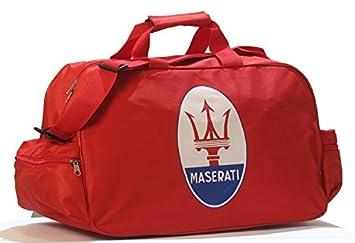 Maserati Logo Sporttasche Leichte Seesack Reisegepaeck