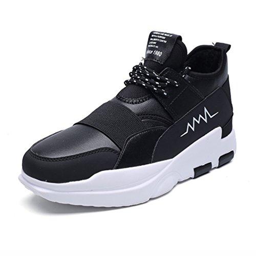 Hombre LFEU de botas negro caño bajo gAcfY4wxq
