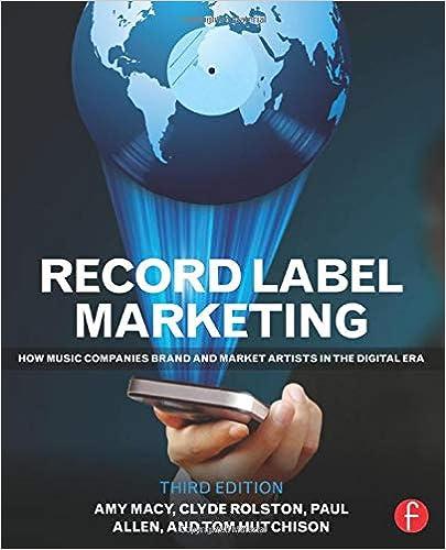 Record Label Marketing Rolston Clyde Philip 9780415715140