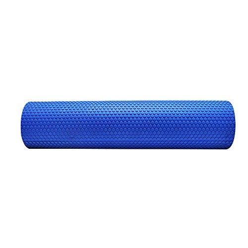 Denshine Rodillo De Espuma Rodillo De Masaje Para Yoga Alta Densidad De Punto Flotante De EVA 60 x 15 Color Azul