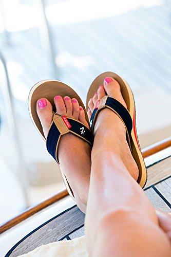 Anchor Fisher Flip Women's Flop Tidewater Sandals wzX6qpqan