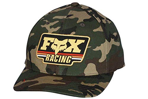 Fox Men's 110 Curved Bill Snapback Hat, camo 2, OS ()