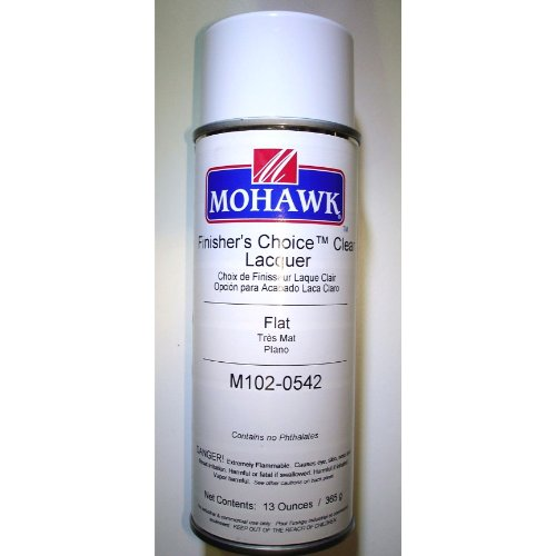 MOHAWK Finisher's Choice Clear Nitrocellulose Lacquer - Flat