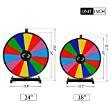 T-SIGN 24 Inch Heavy Duty Prize Wheel