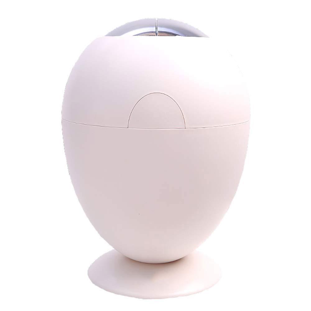 A.JIAJU Aufbewahrungsbox Nordic kreative intelligente Bin/Home / Wohnzimmer/Schlafzimmer / automatische induktion elektrische Pedal mülleimer (Farbe: weiß/größe 28 * 40 cm)