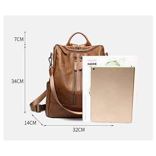 Casual Function Wild Bag Shoulder Multi Female Black1 Backpack EwAxqIZE