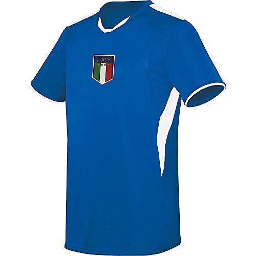 Augusta Sports Youth Small Italy (Blank Back) International Soccer Jersey