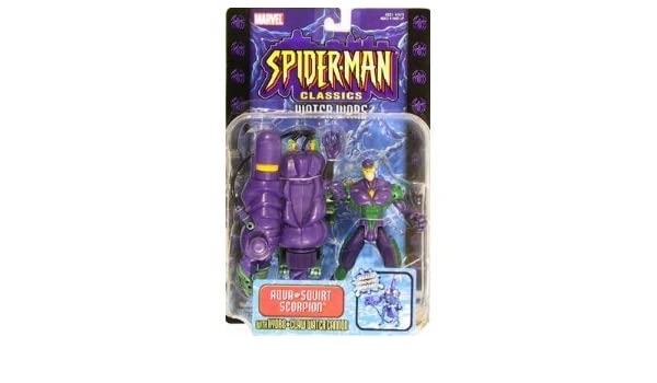 Amazon.com: Toy Biz Spider-Man Classics Water Wars Scorpion ...