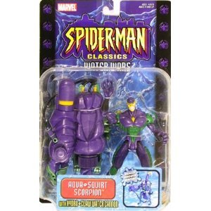 Spider-Man Classics Series 12 Lizard Action Figure with White Coat (Lizard Man Action Figure)